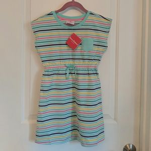 New Hanna Andersson Dress Striped 120
